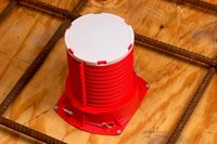 3M 2PICD Plastic Fire Barrier Cast-In Device - 2 in Width - 051115-16536