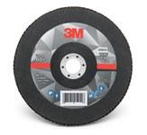 3M 769F Coated Type 29 Aluminum Oxide/Ceramic PSG Purple Flap Disc - 60+ Grit - Medium - 7 in Diameter - 7/8 in Center Hole - 05913