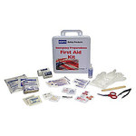 North First Aid Kit - 10 in Width - 10.25 in Length - 3 in Height - 013118-4334L