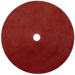 Weiler Wolverine Coated A/O Aluminum Oxide AO Fiber Disc - Fiber Backing - 80 Grit - 9 in Diameter - 7/8 in Center Hole - 59547
