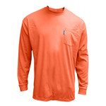 Chicago Protective Apparel Large T-Shirt Flame-Resistant Shirt - Long Sleeve - 610-FRC-LS-O LG