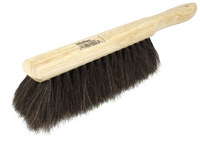 Weiler 440 Dust Brush - Black Horsehair Fine Bristle - 8 in Hardwood Block - 44003