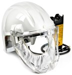 3M Airstream AS-400LBC HEPA PAPR & SAR Assembly - Assembly with Headpiece - Head-Mounted - 8 hr Ni-Cd - 051138-76559