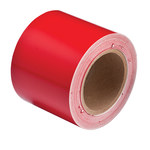 Brady 36288 Red Pipe Banding Tape - 4 in Width - 30 yd Length - B-946