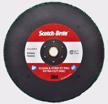 3M Scotch-Brite Clean & Strip XT Pro Extra Cut Disc - Aluminum Oxide - 7 in Diameter - TN Quick Change
