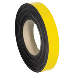 Shipping Supply Yellow Magnetic Label Roll - 100 ft x 1 in - SHP-11526