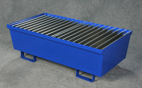 Eagle Blue Cold Rolled Steel 74 gal Spill Pallet - 51 1/2 in Width - 51.209 in Length - 13 in Height - 048441-00892