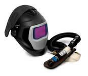3M Speedglas 25-5802-30SW Welding Respirator - Assembly With Headpiece - Belt-Mounted - 051131-49832