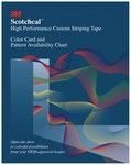3M Scotchcal Color Card - 83005