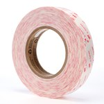 3M XT2112 Clear Transfer Tape - 1 in Width x 60 yd Length - 5 mil Thick - Densified Kraft Paper Liner - 63949