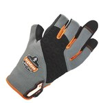 Ergodyne ProFlex Tena-Grip 720 Gray/Black/Orange Large Synthetic EVA Foam/Leather Work Gloves - 17114