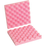 Shipping Supply Pink Anti-Static Foam Sheets - 10 in x 10 in x 2 in - SHP-11579