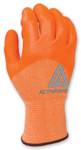 Ansell ActivArmr Hi-Viz 97-100 Orange 9 Nylon Work Gloves - Neoprene/Nitrile Palm Only Coating - 114728