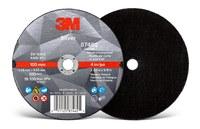 3M Silver Ceramic Cutoff Wheel - 4 in Diameter - 87462