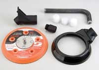 "Dynabrade 57119 3 1/2"" (89 mm) Central Vacuum Conversion Kit"
