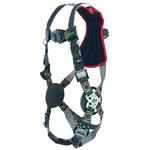 Miller Revolution RKNARRL Black Universal Vest-Style Back Padding Body Harness - Dualtech Webbing - 612230-17405