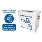 Brady Hand Sanitizing Lock Box Kit - 3.5 in Width - 64293