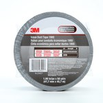 3M 1900 Silver Duct Tape - 1.88 in Width x 50 yd Length - 5.8 mil Thick - 23421