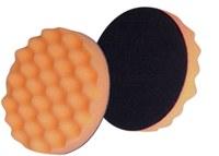 3M Finesse-It 02648B Orange Foam Pad Hook & Loop Attachment - 3 1/4 in Diameter - 60527