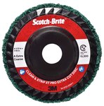 3M Scotch-Brite Clean & Strip XT Pro Extra Cut Disc - Aluminum Oxide - 4 1/2 in Diameter - Type 27