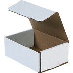 Oyster White Corrugated Mailer - 6 1/2 in x 4 1/2 in x 2 1/2 in - SHP-2529