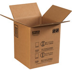 Shipping Supply Kraft Hazardous Material Boxes - 12 1/2 in x 12 1/2 in x 15 1/8 in - SHP-11694