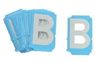 Brady Bradyglo 6003-B Letter Label - 84161