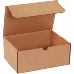 Shipping Supply Kraft Literature Mailers - 9 in x 6 1/2 in x 4 in - SHP-13558