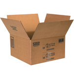 Shipping Supply Kraft 1 Gallon Paint Can Boxes - 17 in x 17 in x 9.3125 in - SHP-2227