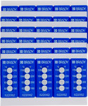 Brady TIL-4-82C/180F White on Blue Polyester Temperature Indicator Label - 0.787 in Width - 0.787 in Height - +180 F - B-7511