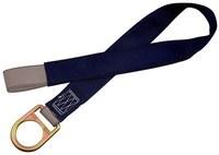 DBI-SALA Blue Polyester Webbing Concrete Anchor Strap - Single D-Ring - 2 1/4 in Width - 60 in Length - 840779-04716