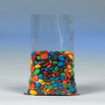 "Flat Polypropylene Poly Bags, 3"" x 4"" - 1.5 Mil - 10000 EACH PER CASE"