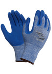 Ansell Hyflex 11-920 Blue 9 Nylon Work Gloves - Nitrile Palm Only Coating - 255004