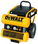 Dewalt 4 gal Dolly Style Air Compressor - 1.1 hp - D55154