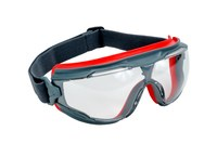 3M Goggle Gear 500 GG501SGAF Universal Polycarbonate Safety Goggles Clear Lens - Gray Frame - 051131-27455