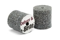 3M Scotch-Brite DP-UW Unitized Ceramic Hard Deburr and Finish PRO Deburring Wheel - Coarse Grade - 3 in Diameter - 1/4 in Center Hole - 1/2 in Thickness - 90122