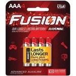 Rayovac Fusion 824 Standard Battery - Single Use Alkaline AAA - 824-4TFUSJ