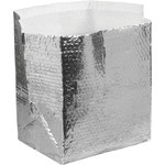 Shipping Supply Silver Insulated Box Liners - 11 in x 8 in x 6 in - 3/16 in Thick - SHP-11693