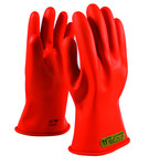 PIP Novax 147-00-11 Orange 9 Rubber Work Gloves - 11 in Length - Smooth Finish - 147-00-11/9
