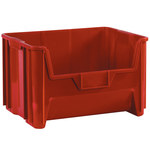 Red Stackable Bins - 19.875 in x 15.25 in x 12.4375 in - SHP-3028
