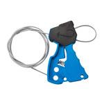 Brady Blue Nylon Cable Lockout Device 45191 - 6 ft Length - 754476-45191