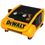 Dewalt 1 gal Air Compressor - 0.6 hp - 135 psi Max - D55140
