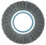 Weiler Silicon Carbide Wheel Brush 0.04 in Bristle Diameter 80 Grit - Arbor Attachment - 12 in Outside Diameter - 5 1/4 in Center Hole Size - 83750