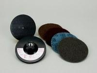 3M Scotch-Brite 9145S Non-Woven Sanding Disc Set - Coarse, Medium, Very Fine, Super Fine Grade(s) Included - 4 1/2 in Diameter Included - 14105