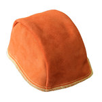 Chicago Protective Apparel 640 Chrome Leather Welding Cap - 640-CL