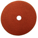 Weiler Saber Tooth Coated Ceramic Fiber Disc - Fiber Backing - 80 Grit - Medium - 4 1/2 in Diameter - 7/8 in Center Hole - 59554
