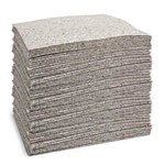 Brady Reform Gray Polypropylene 24 gal Absorbent Pad 110731 - 15 in Width - 19 in Length - 662706-89196
