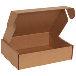 Shipping Supply Kraft Literature Mailers - 11 1/8 in x 8 3/4 in x 3 in - SHP-11671