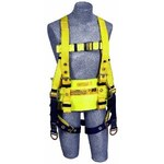 DBI-SALA Yellow Large Polyester Body Belt - Derrick Belt - 648250-16550