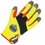 Ergodyne ProFlex 710 Gray/Black/Lime Large Work Gloves - 17264